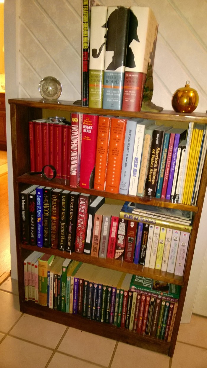 Sherlockian bookcase